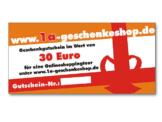 Geschenkgutschein über 30 Euro